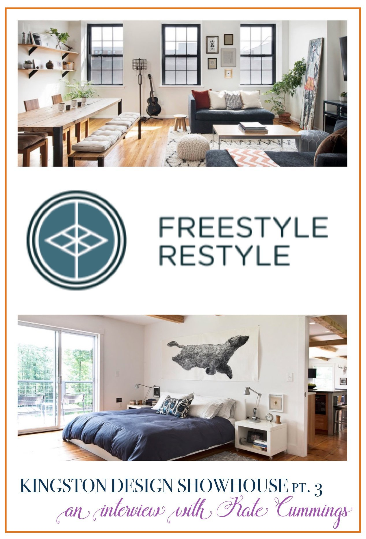 An Interview With Kate Cummings of Freestyle Restyle | Hudson Valley Interior Design photo